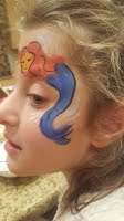 Face painting by Vera
